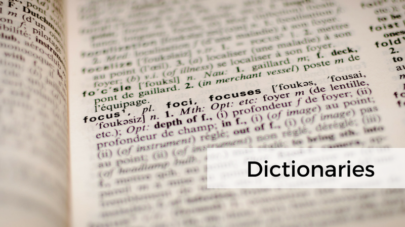 Monolingual English Dictionary: which to choose