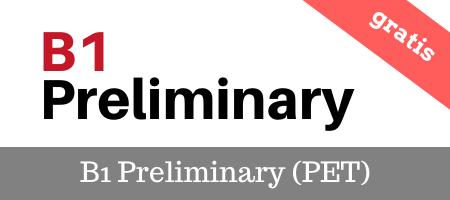 B1 Preliminary exam risorse